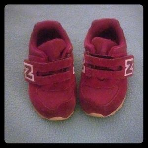 Toddler size 4 suede New Balance Sneakers